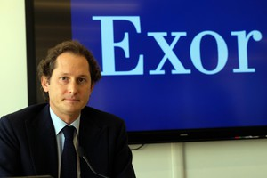 Il presidente John Elkann all'Investor Day (ANSA)