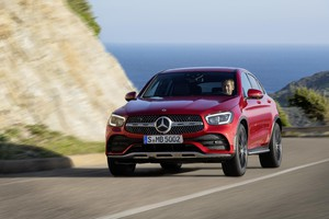 Nuovo Mercedes-Benz GLC Coupè (ANSA)