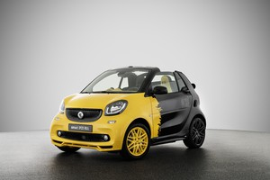 Smart, l'ultima limited edition con motore a benzina (ANSA)