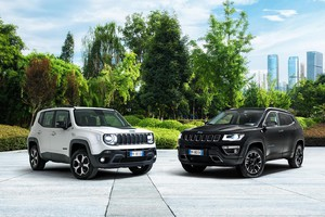 Jeep Compass e Renegade, il Plug-In 'First Edition' (ANSA)