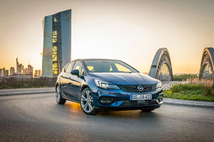 Opel Astra, auto al top per l'efficienza (ANSA)