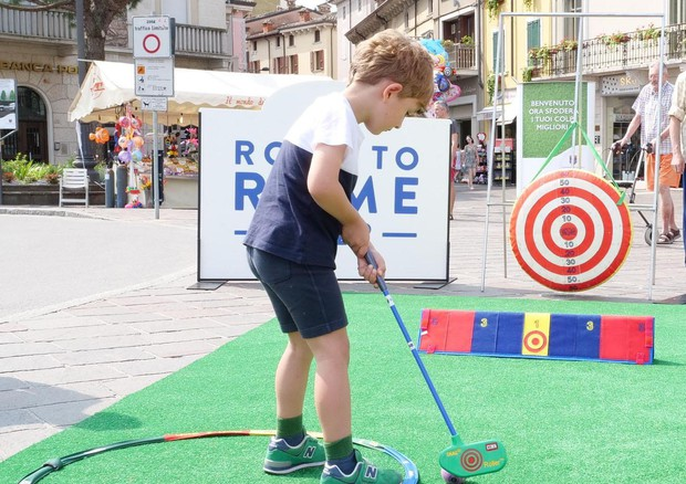 road to rome golf (foto: ANSA)