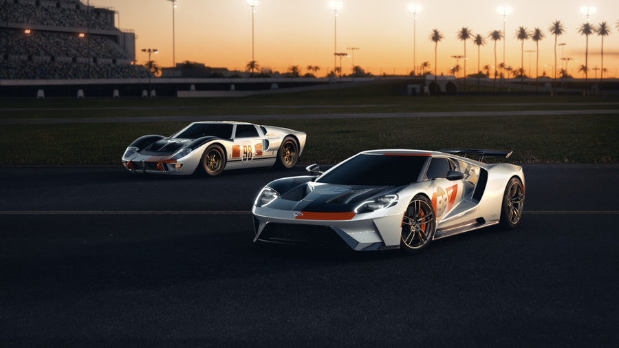 Ford GT Heritage Edition © Ansa